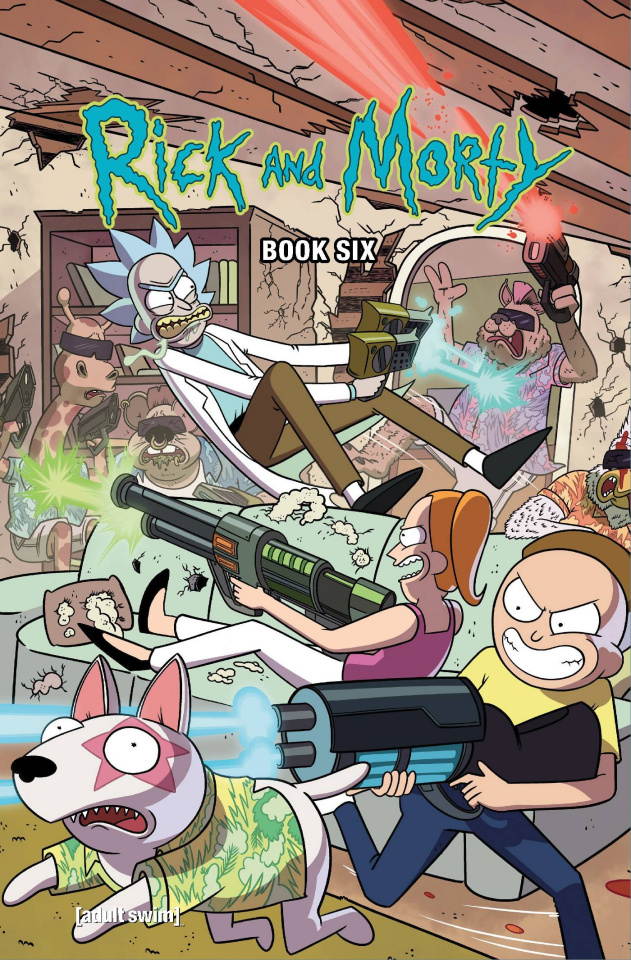 Rick and Morty Book 6 (Deluxe Edition)