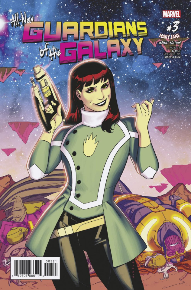 All-New Guardians of the Galaxy #3 (Anka Mary Jane Cover)
