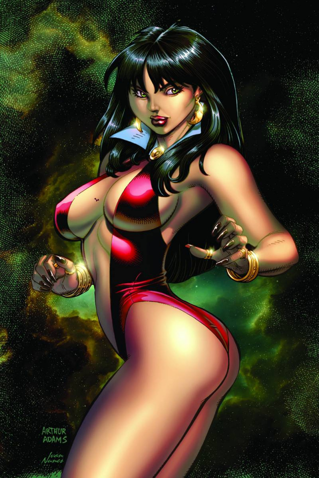 Vampirella: Feary Tales #2 (Adams Virgin Cover)