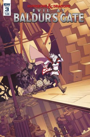 Dungeons & Dragons: Evil At Baldur's Gate #3 (Dunbar Cover)