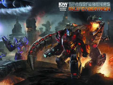 Transformers: Fall of Cybertron #1 (10 Copy Cover)
