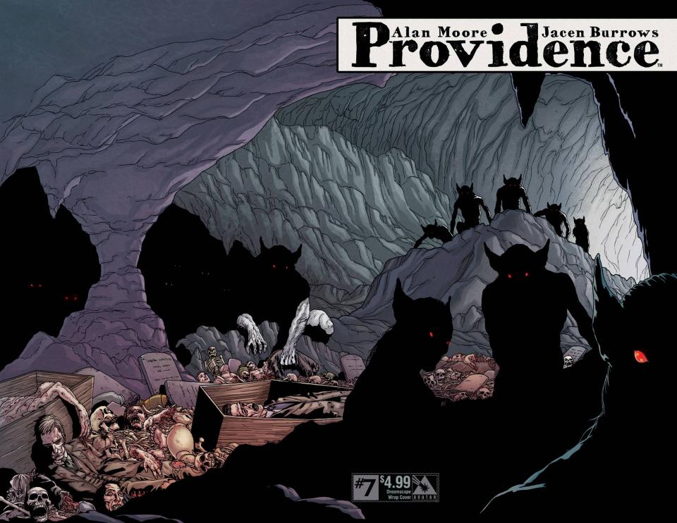 Providence #7 (Dreamscape Wrap Cover)