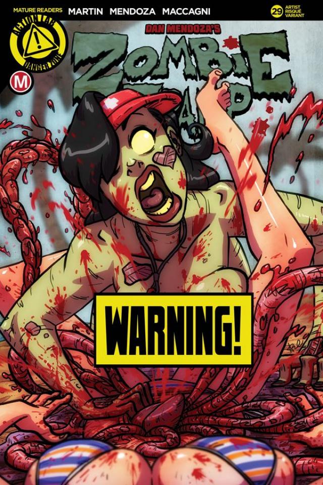 Zombie Tramp #29 (Death Guard Risque Cover)
