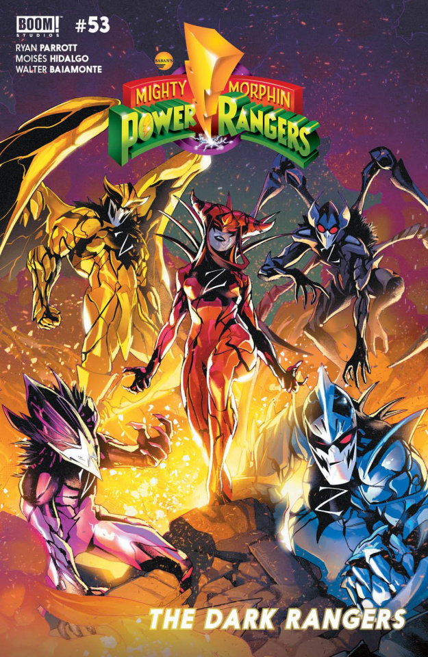 Mighty Morphin' Power Rangers #53 (Campbell Cover)