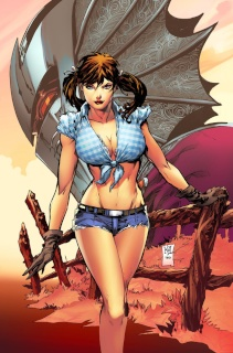 Grimm Fairy Tales: The Warlord of Oz #1 (Lashley Cover)
