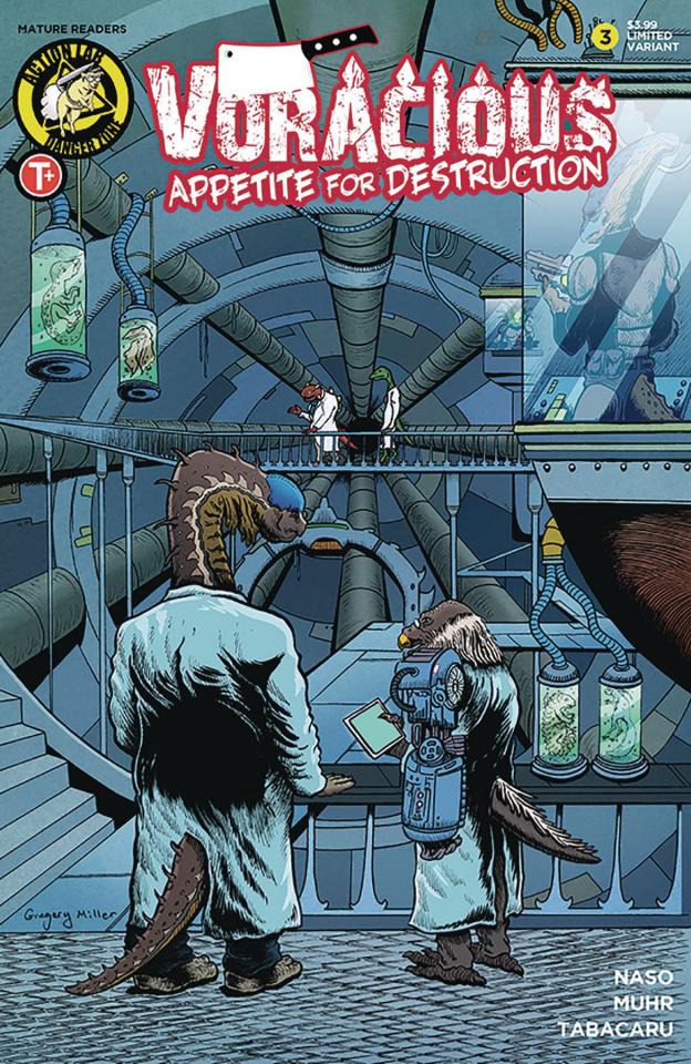 Voracious: Appetite for Destruction #3 (Miller Cover)