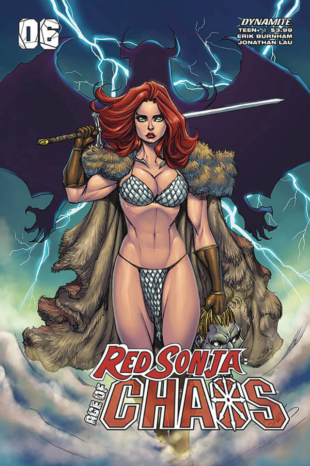 Red Sonja: Age of Chaos #6 (Garza Cover)