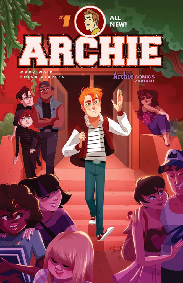 Archie #1 (Genevieve FT Cover)