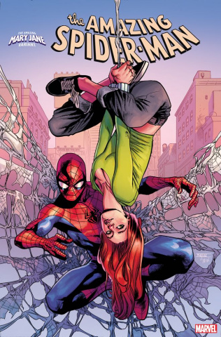 The Amazing Spider-Man #32 (Asrar Mary Jane Cover)