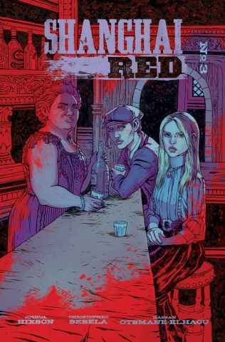 Shanghai Red #3 (Fowler Cover)