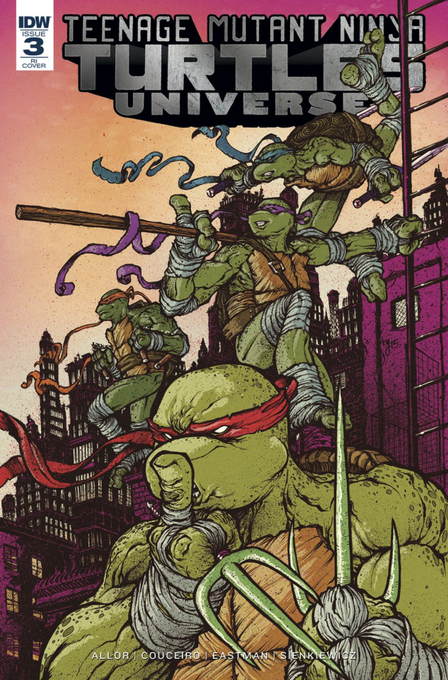Teenage Mutant Ninja Turtles Universe #3 (10 Copy Cover)