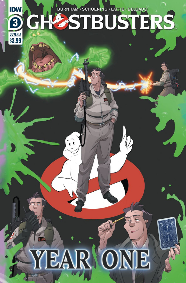 Ghostbusters: Year One #3 (Shoening Cover)