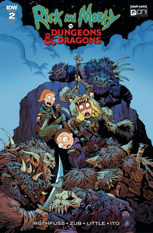 Rick and Morty vs. Dungeons & Dragons #2 (20 Copy Cover)