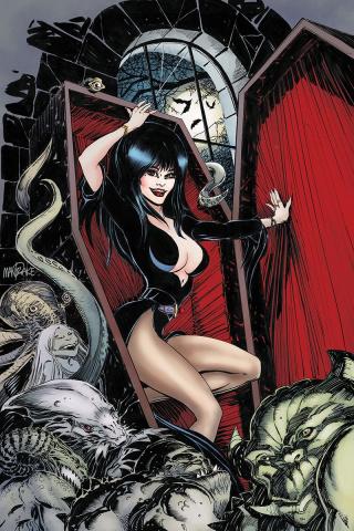 Elvira: Mistress of the Dark #12 (25 Copy Mandrake Virgin Cover)