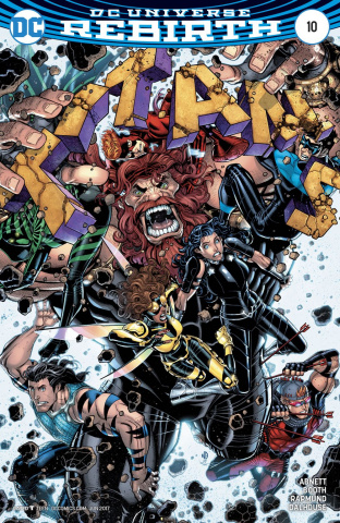 Titans #10 (Variant Cover)