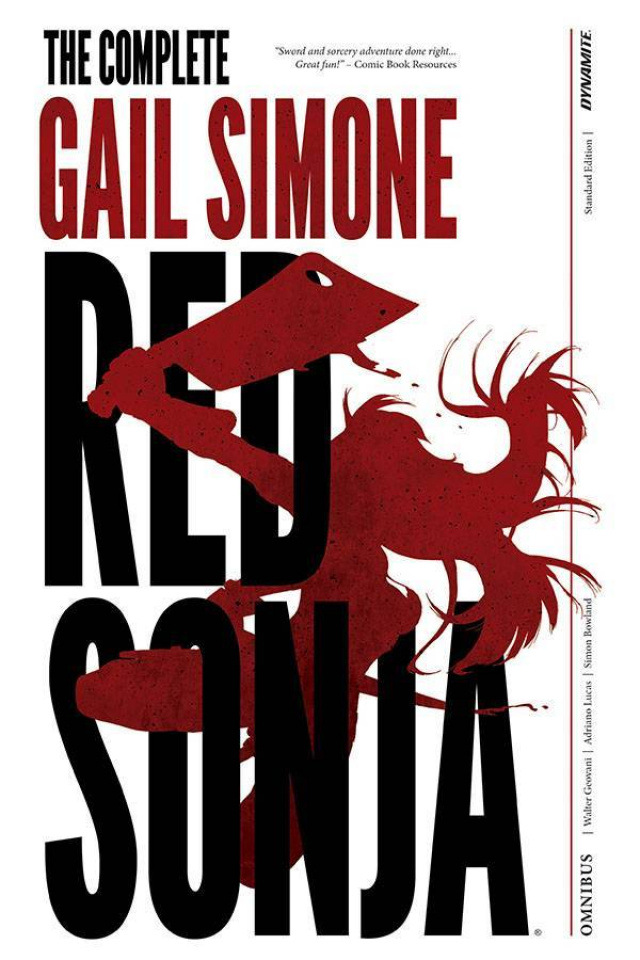 The Complete Gail Simone Red Sonja (Signed Edition)