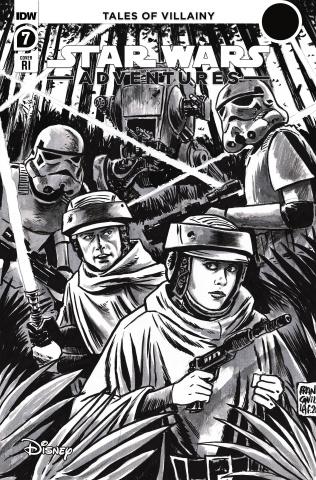 Star Wars Adventures #7 (10 Copy Francavilla Cover)