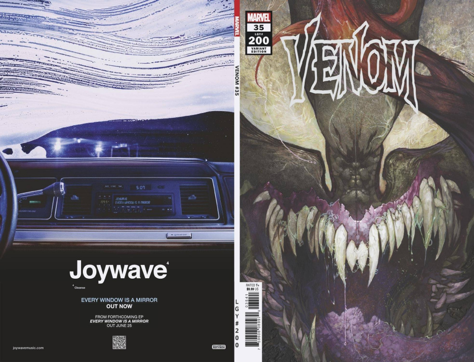 Venom #35 (Bianchi 200th Issue Cover)