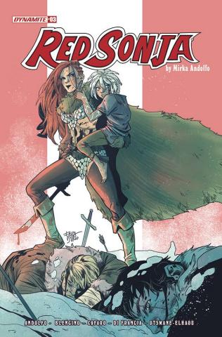 Red Sonja #3 (Durso Cover)