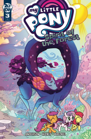My Little Pony: Spirit of the Forest #3 (10 Copy Cover)