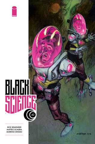 Black Science #42 (Robinson Cover)
