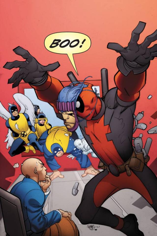 All-New X-Men #33 (Deadpool Cover)