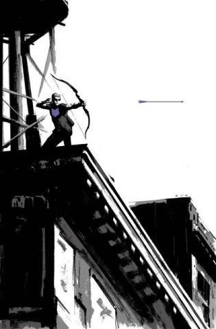 Hawkeye #1 (2nd Printing)