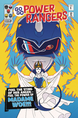 Go, Go, Power Rangers! #12 (25 Copy Bustos Cover)