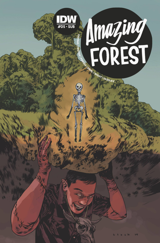 Amazing Forest #5 (Subscription Cover)