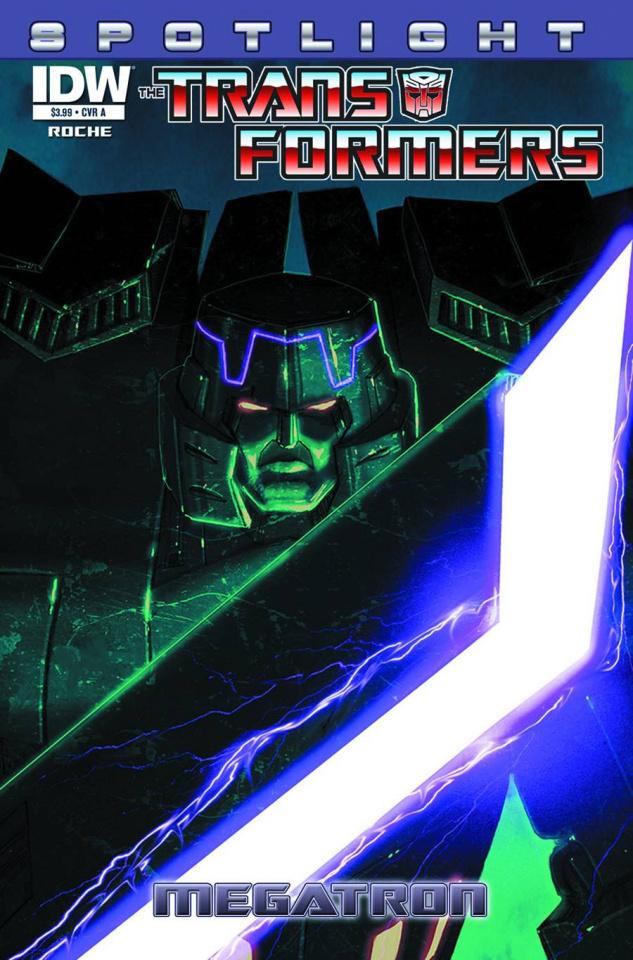 The Transformers Spotlight: Megatron #1 (Crain Cover)