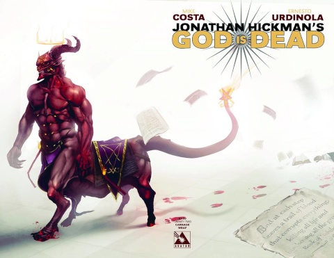 God Is Dead #22 (Carnage Wrap Cover)