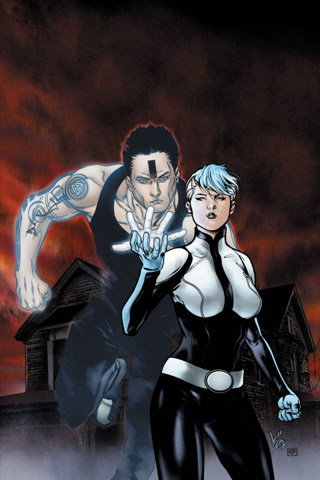 The Death-Defying Doctor Mirage: Second Lives #1 (10 Copy Evans Cover)