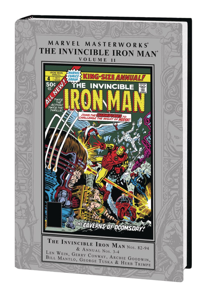 Invincible Iron Man Vol. 11 (Marvel Masterworks)