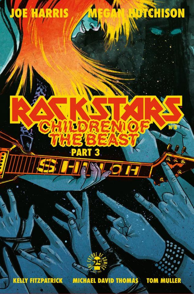 Rockstars #8 (Hutchison Cover)