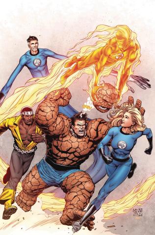 Hunt for Wolverine: Dead Ends #1 (McNiven Fantastic Four Cover)