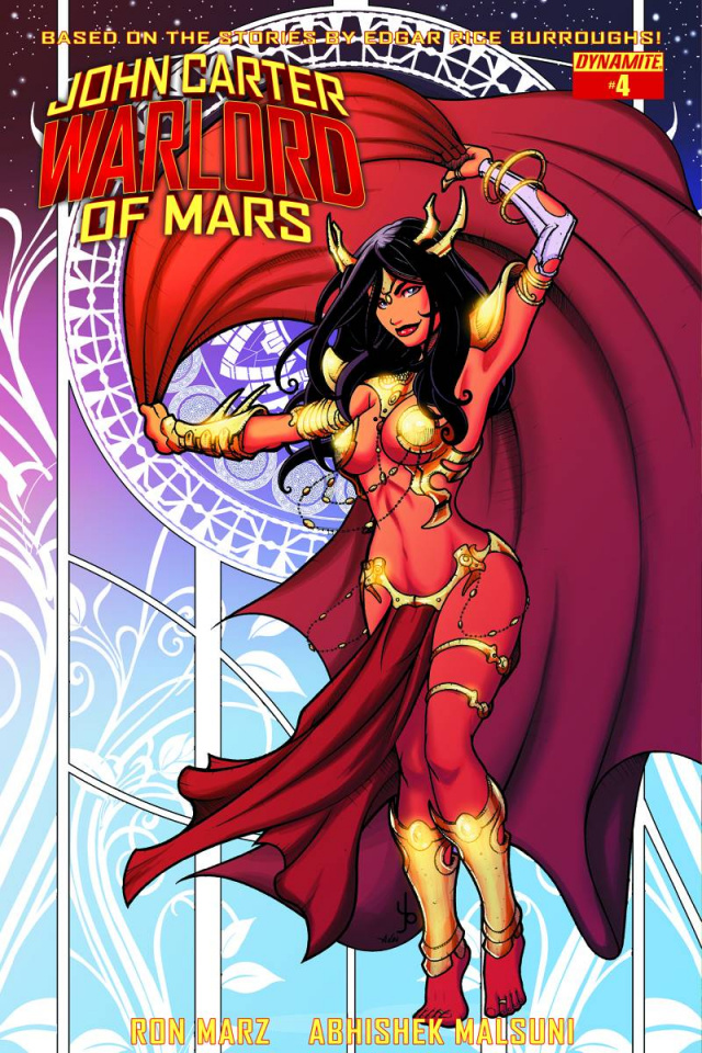 John Carter: Warlord of Mars #4 (Subscription Cover)