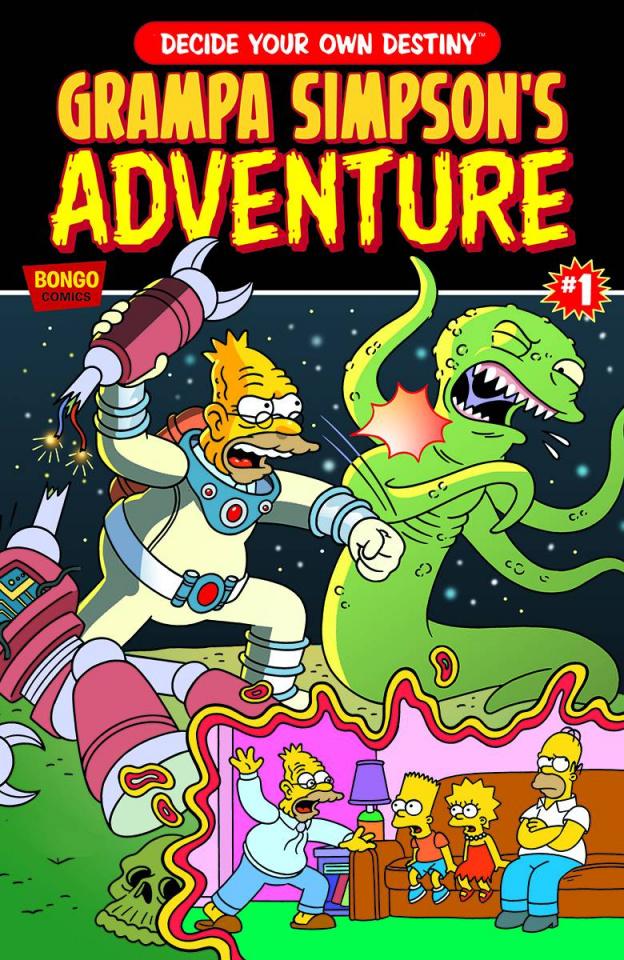 Grampa Simpson's Choose Your Own Adventure #1