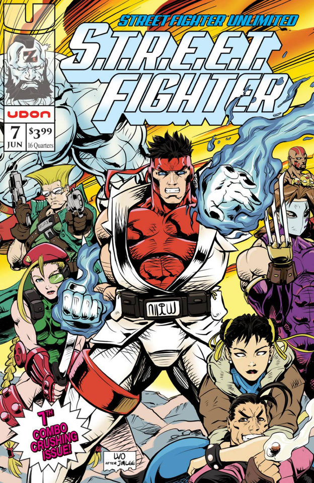 Street Fighter Unlimited #7 (10 Copy Homage Cover)