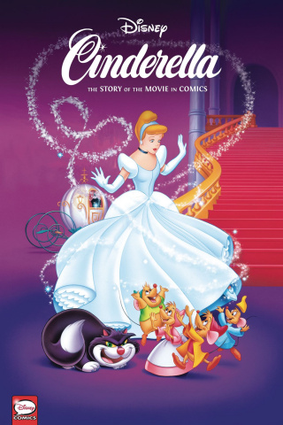 Cinderella: The Story of the Movies in Comics