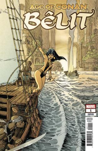 Age of Conan: Bêlit #1 (Vatine Cover)