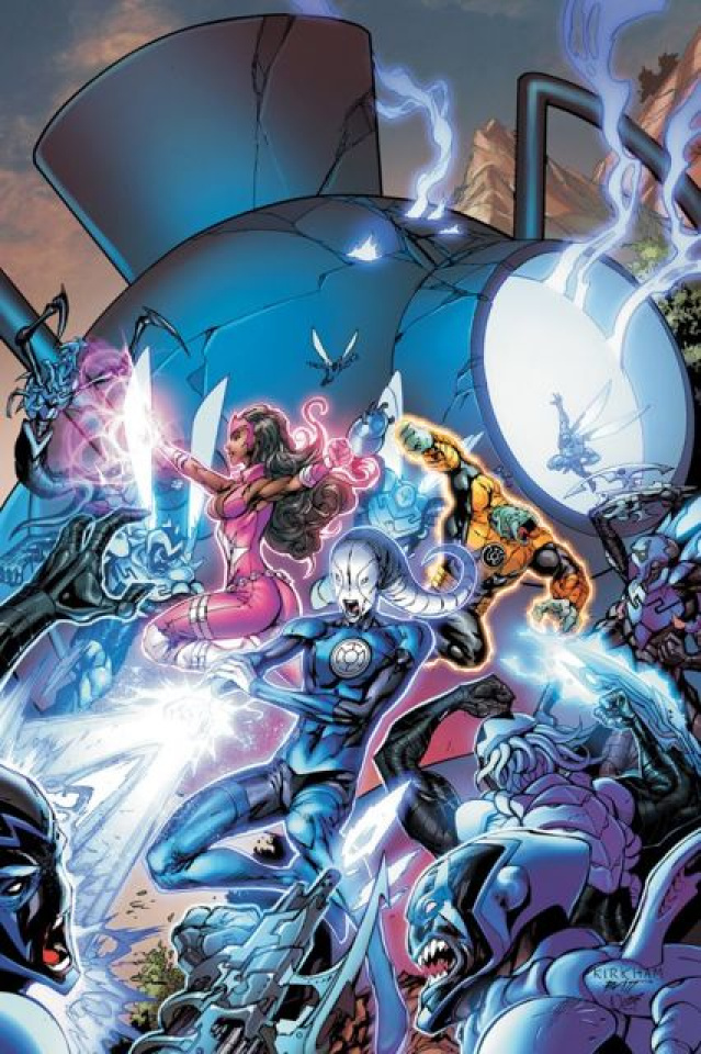 Green Lantern: New Guardians #9
