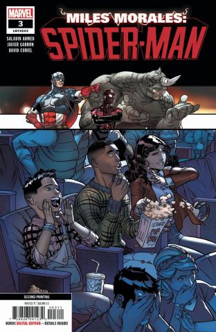 Miles Morales: Spider-Man #3 (Garron 2nd Printing)