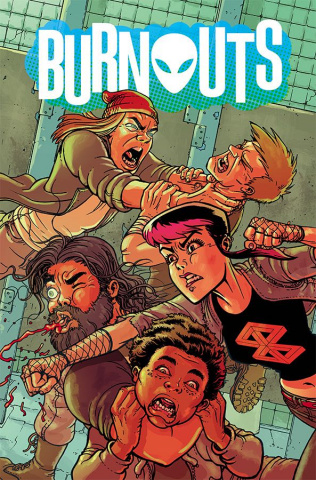 Burnouts #5 (Burnham Cover)