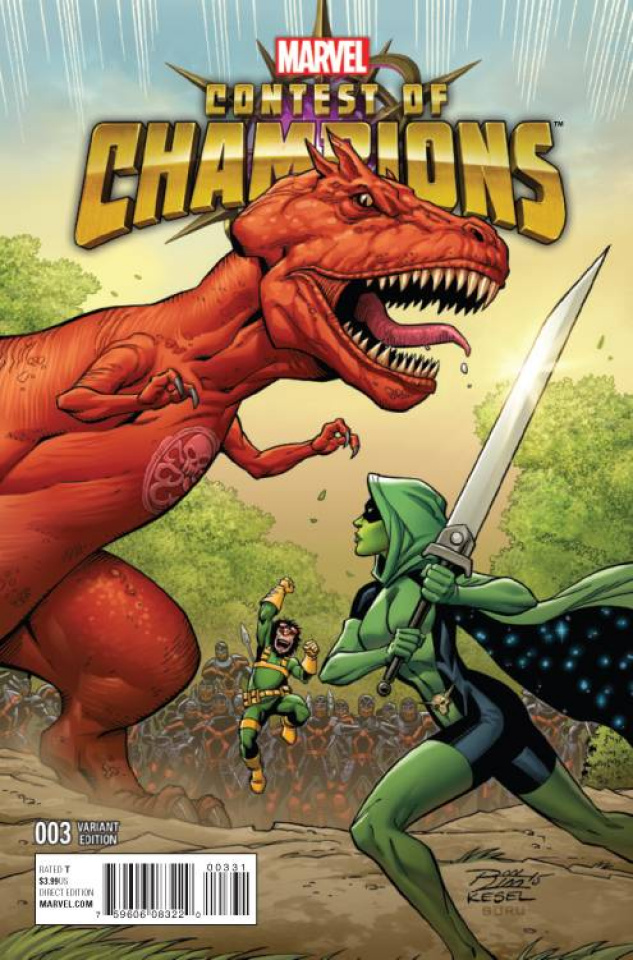 Contest of Champions #3 (Lim Connecting Cover)