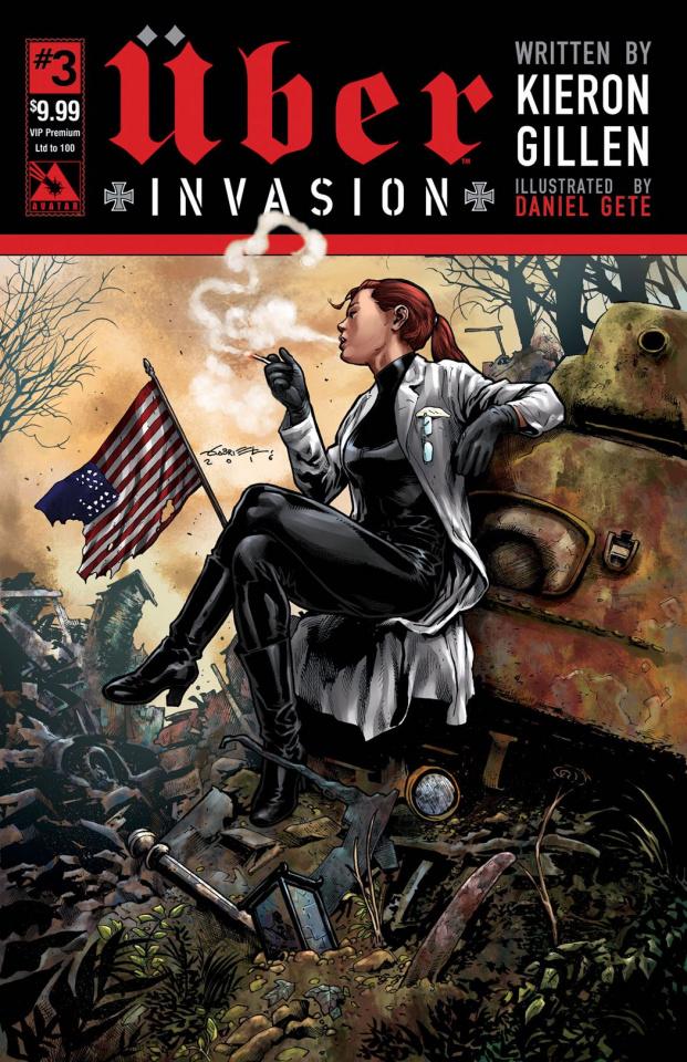 Über: Invasion #3 (VIP Premium Cover)