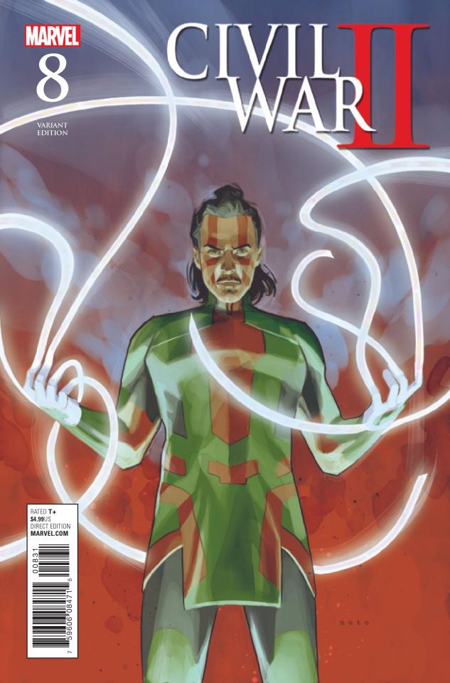 Civil War II #8 (Noto Cover)