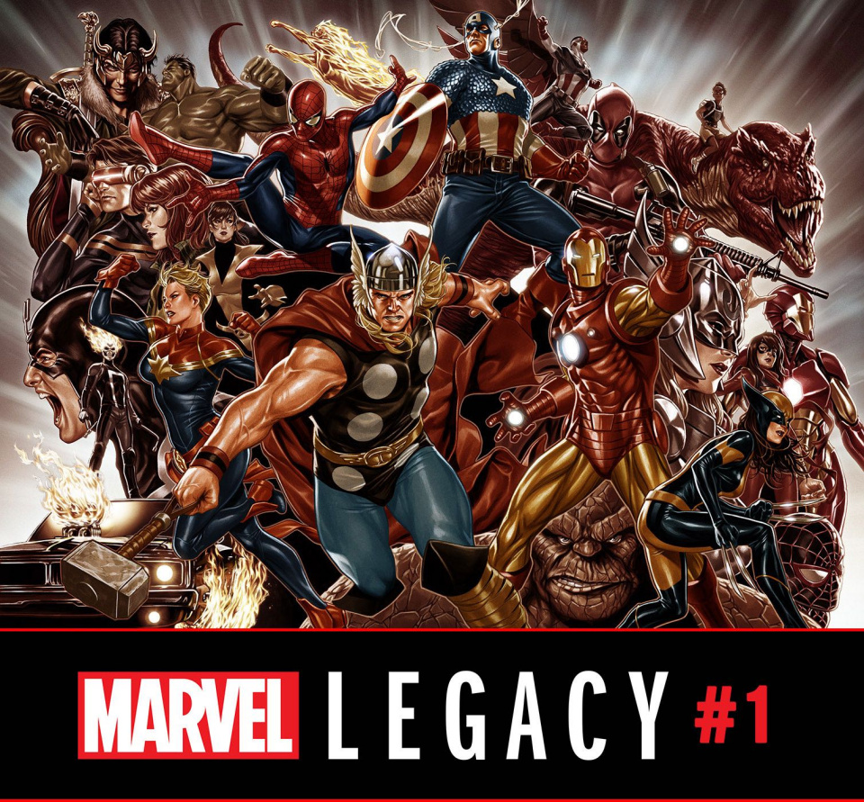 Marvel Legacy #1 (Brooks Wraparound Cover)
