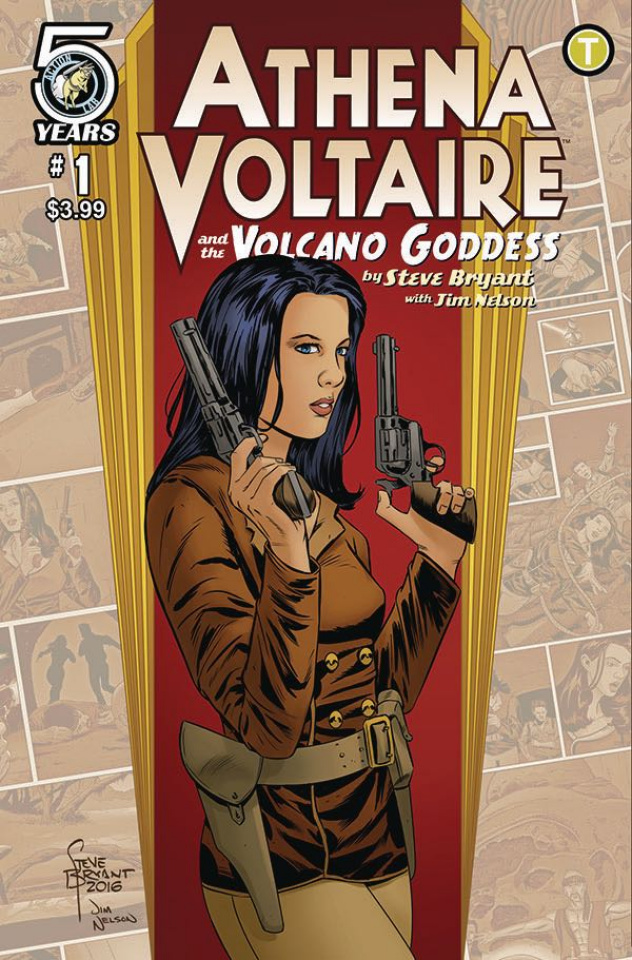 Athena Voltaire and the Volcano Goddess #1 (Bryant Cover)