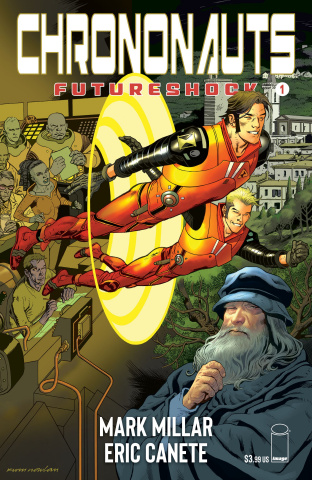 Chrononauts: Futureshock #1 (Nowlan Cover)