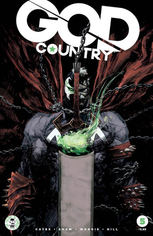 God Country #5 (Spawn Month Cover)